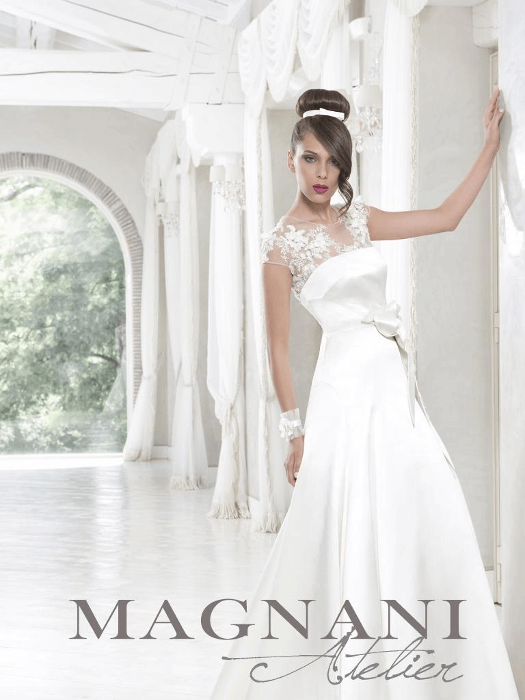 Quanto costa un abito da sposa magnani