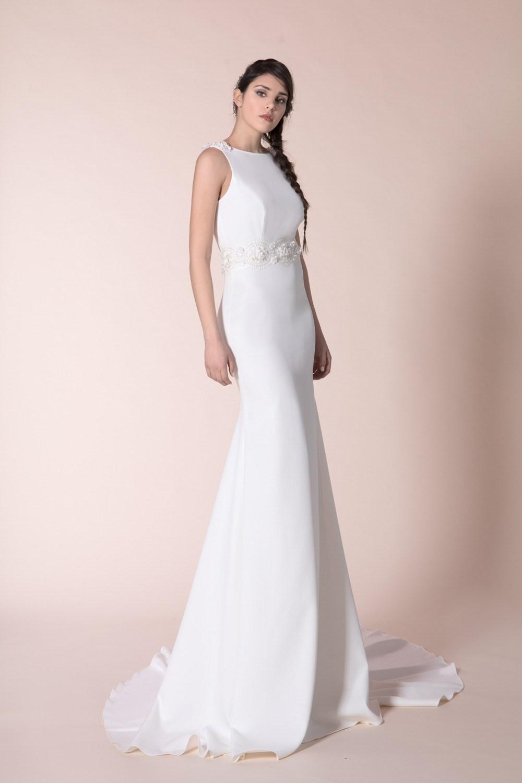 f01d8b8b4242 seansuale abito da sposa in cady