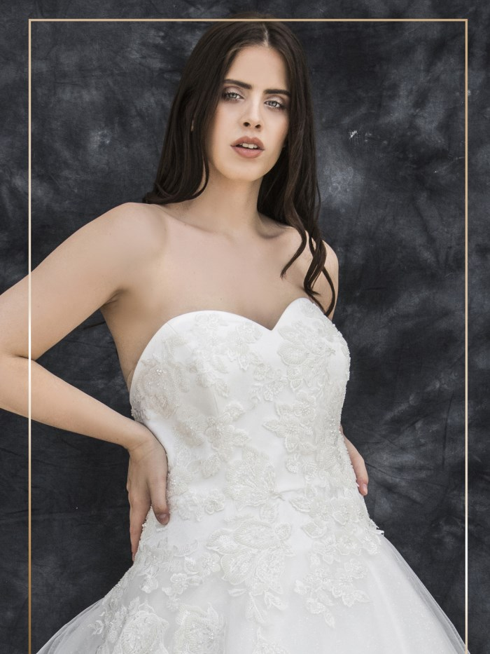 Curvy Wedding Dresses - LX 063
