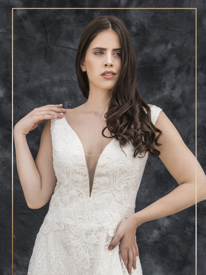 Curvy Wedding Dresses - LX 071