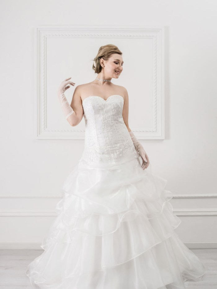 Curvy Wedding Dresses - LX21