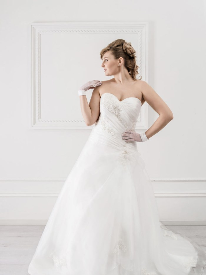 Curvy Wedding Dresses - LX24