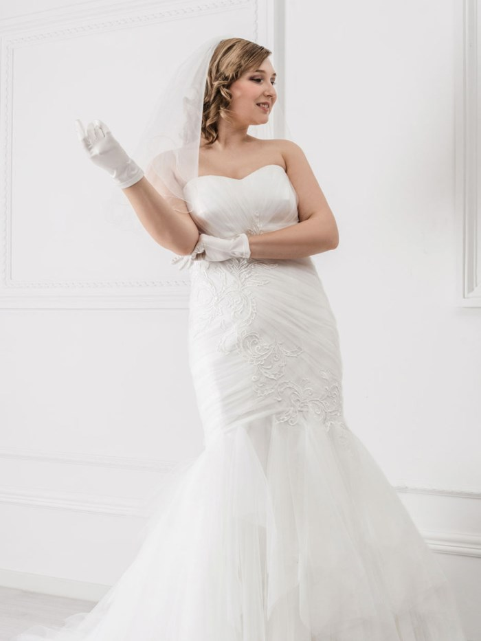 Curvy Wedding Dresses - LX29