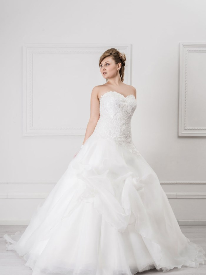 Curvy Wedding Dresses - LX31
