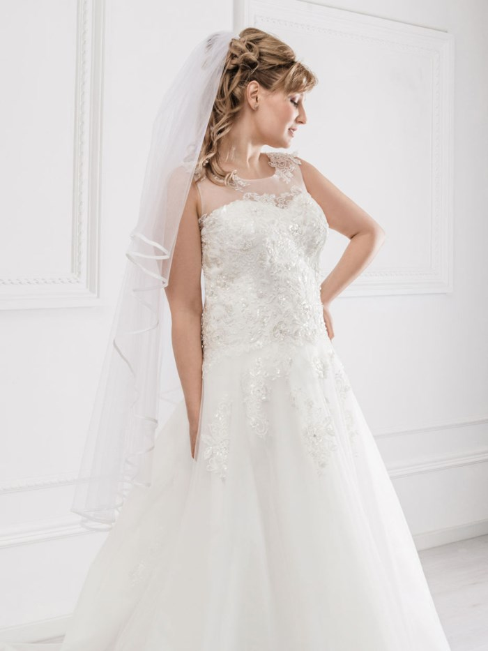Curvy Wedding Dresses - LX32