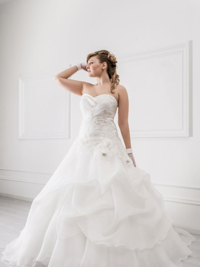 Curvy Wedding Dresses - LX33