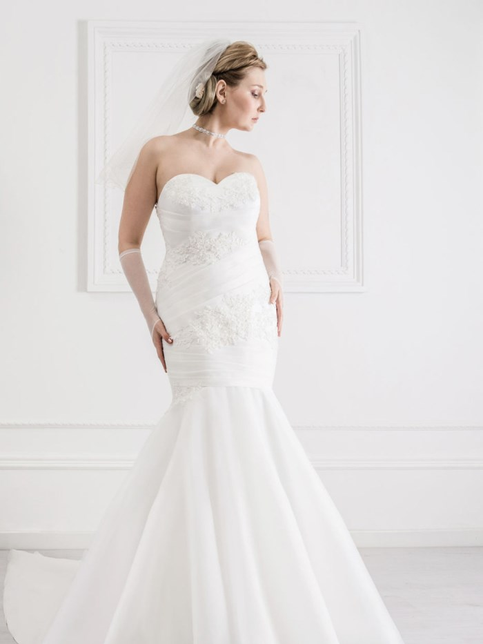 Curvy Wedding Dresses - LX34