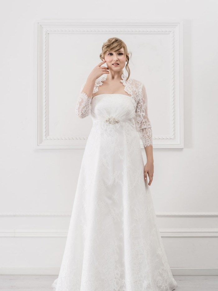 Curvy Wedding Dresses - LX36