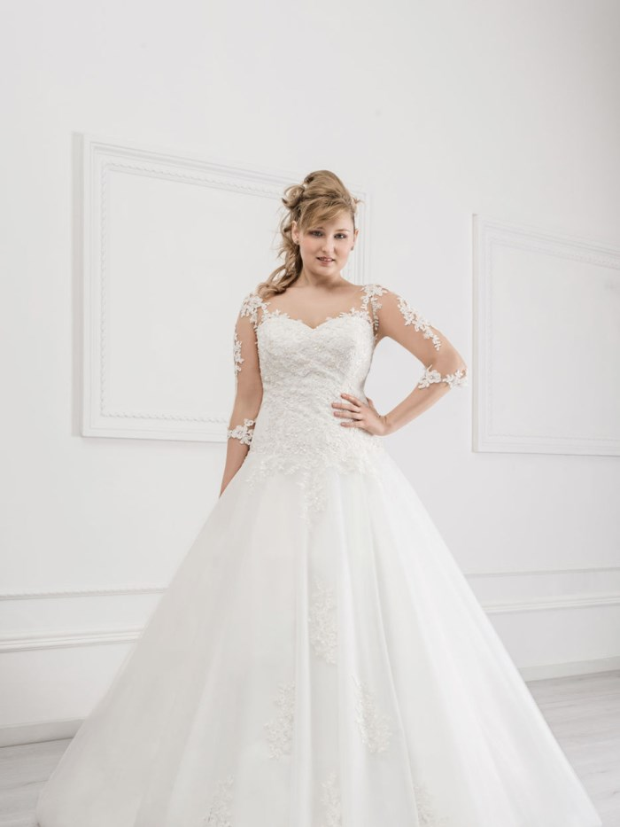 Curvy Wedding Dresses - LX38