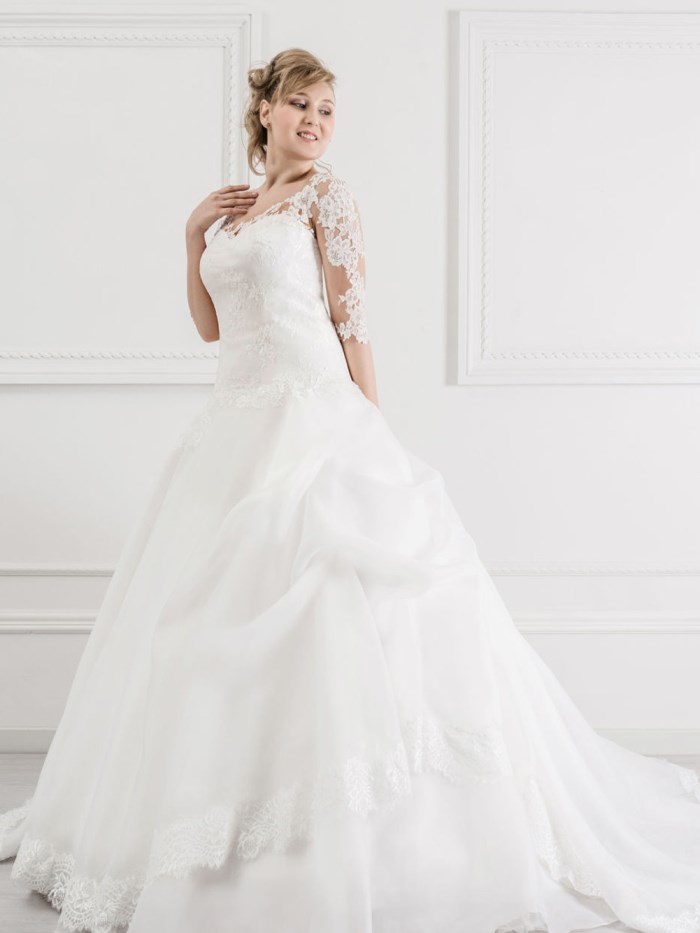 Curvy Wedding Dresses - LX39