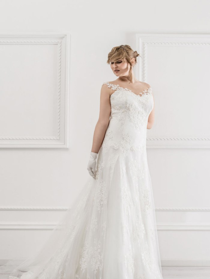 Curvy Wedding Dresses - LX40